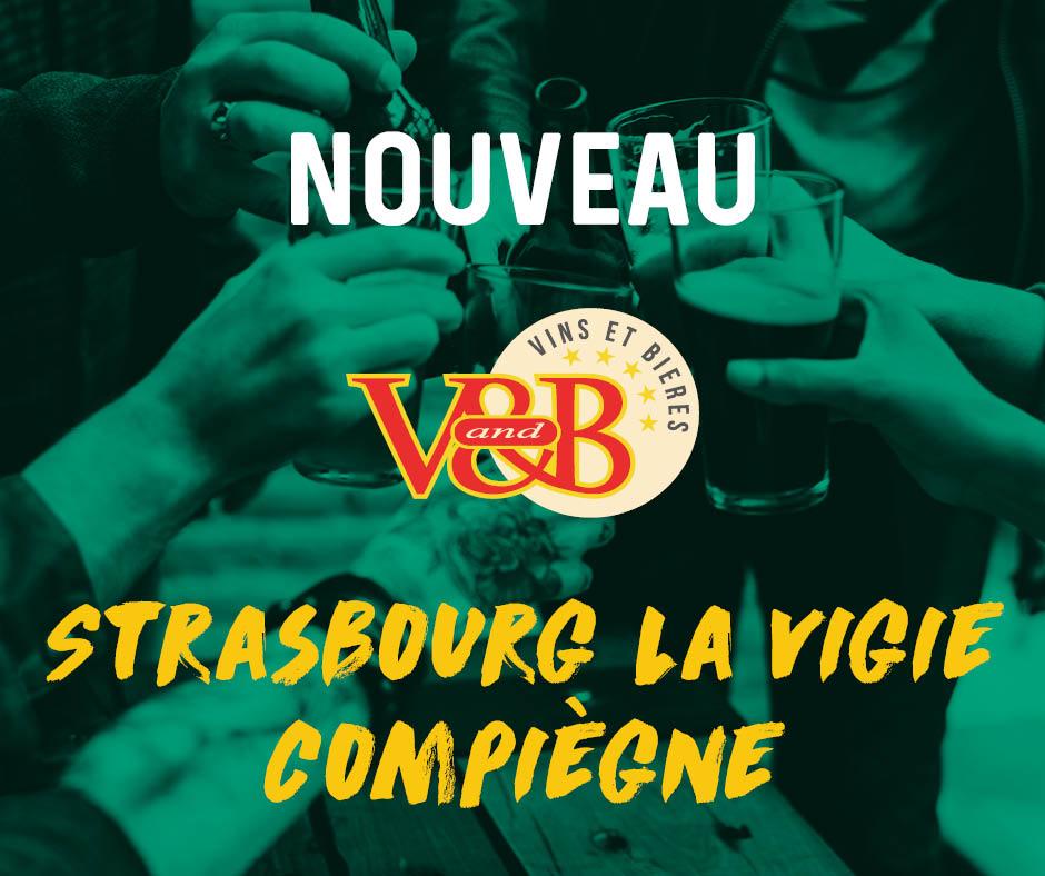 𝗣𝗿𝗲̂𝘁𝘀 𝗮̀ 𝘃𝗼𝘂𝘀 𝗮𝗰𝗰𝘂𝗲𝗶𝗹𝗹𝗶𝗿 !  🎉 Welcome  V and B Strasbourg La Vigie et V and B Compiègne 😘 👉 En savoir plus sur leurs parcours  : https://t.co/zA0Kj7hvPE #VandB #Strasbourg #Compiègne https://t.co/sDxH0GfRco