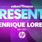 Image for the Tweet beginning: Enrique Lores, HP CEO is