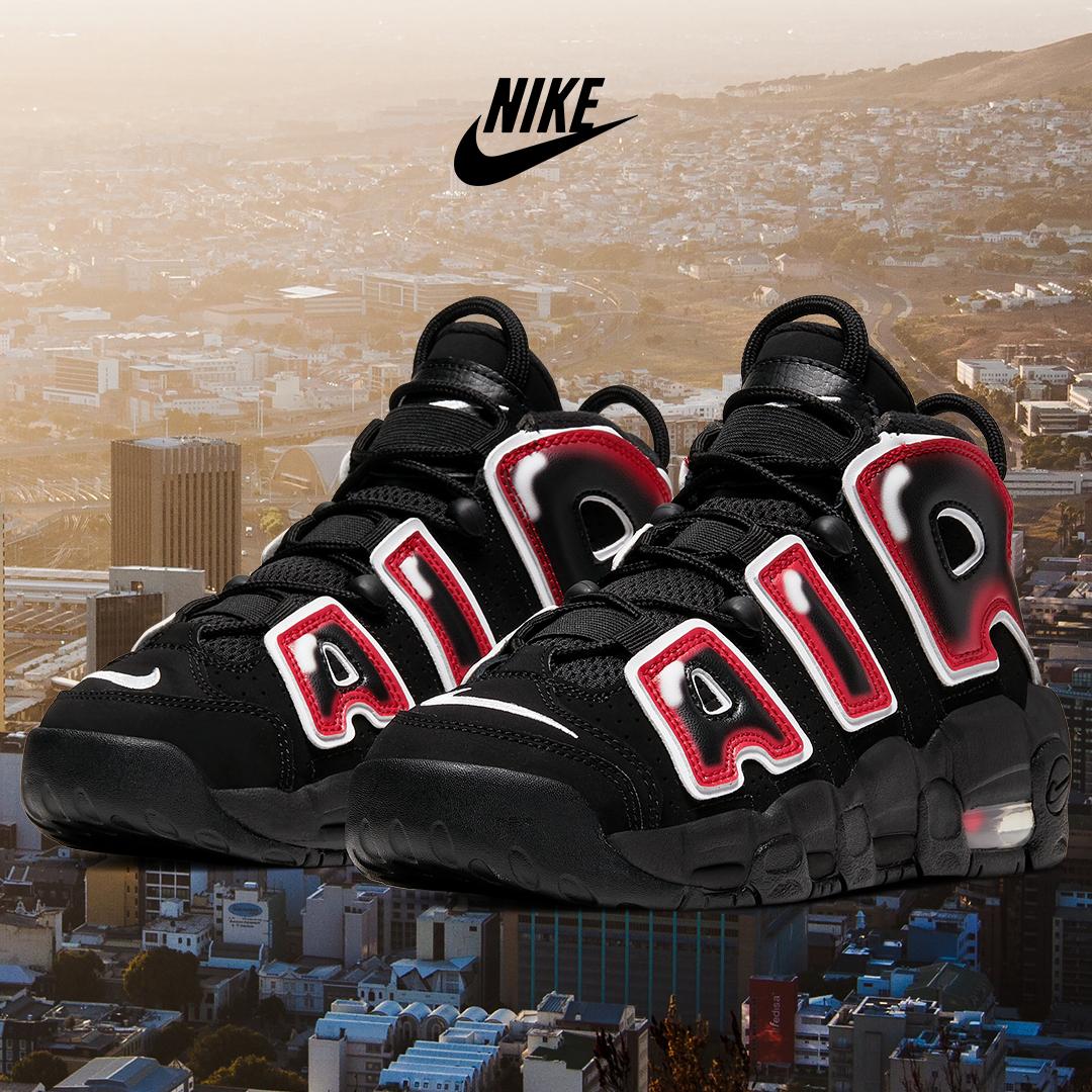 The Nike Air More Uptempo basketball