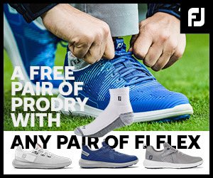 A FREE pair of ProDry 🧦with any pair of @FootJoyEurope FLEX Golf Shoes available across all @EuroselectGolf stores while stocks last👍 #ComfortontheCourse #1ShoeinGolf #FootJoy
