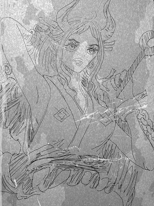 ヘッタクソ カイドウ 似顔絵 投下 スキャンに関連した画像-02