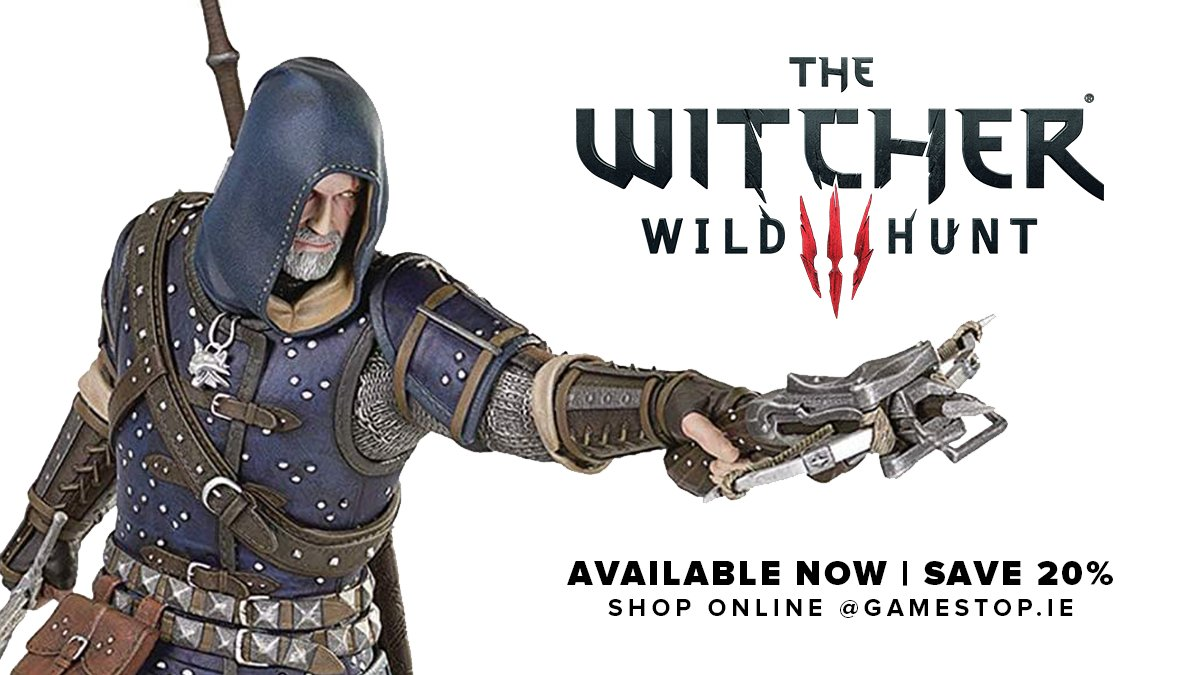 SAVE 20% on a selection of Witcher 3: Wild Hunt figures. Limited time only.  🛒 https://t.co/IfZh77ZJkV https://t.co/boEQ8qQ1a3