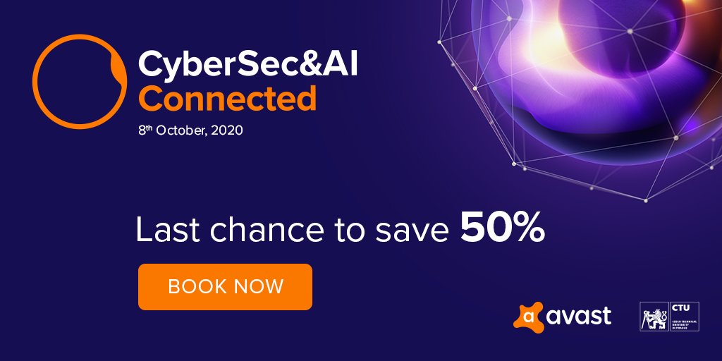 Last chance to save 50%!  Join keynote speakers @RogerDingledine, co-founder of the Tor Project, and Garry Kasparov @Kasparov63, Avast Security Ambassador, to explore the theme of #AI for #privacy and #cybersecurity.  Book now ➤ https://t.co/uO049rPQxo  #CyberSecAI https://t.co/VH6ZjWbt2E
