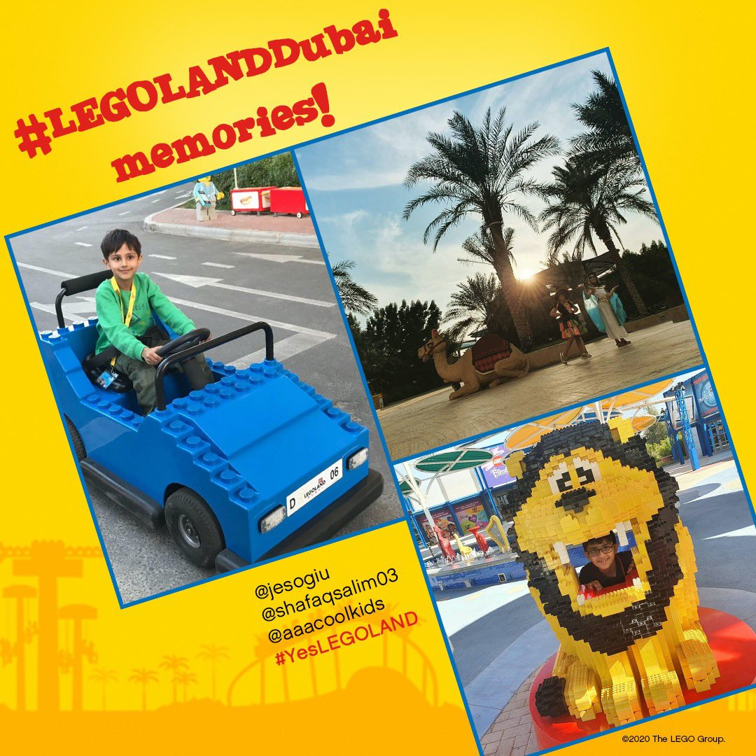 Memories from #LEGOLANDDubai are the best and we love seeing yours! If you want to be featured on our Social Media pages use #YesLEGOLAND in your posts! https://t.co/np1QiEoTZ9