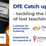 Image for the Tweet beginning: ✅ The DfE is providing