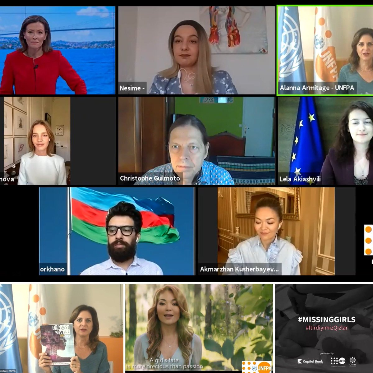 Big appreciation to our great speakers @NataSupernova @NSalioska @Lela_Akiashvili @KrstoCZG @orkhano & Singer KALIYA & amazing @MariaRamosUK of @TRTWorld for the very inspiring #SWOP2020 launch today!   Your work everyday proves that #SheCounts!  Watch: https://t.co/2eo8HZaFRv https://t.co/00l9a9Udhe