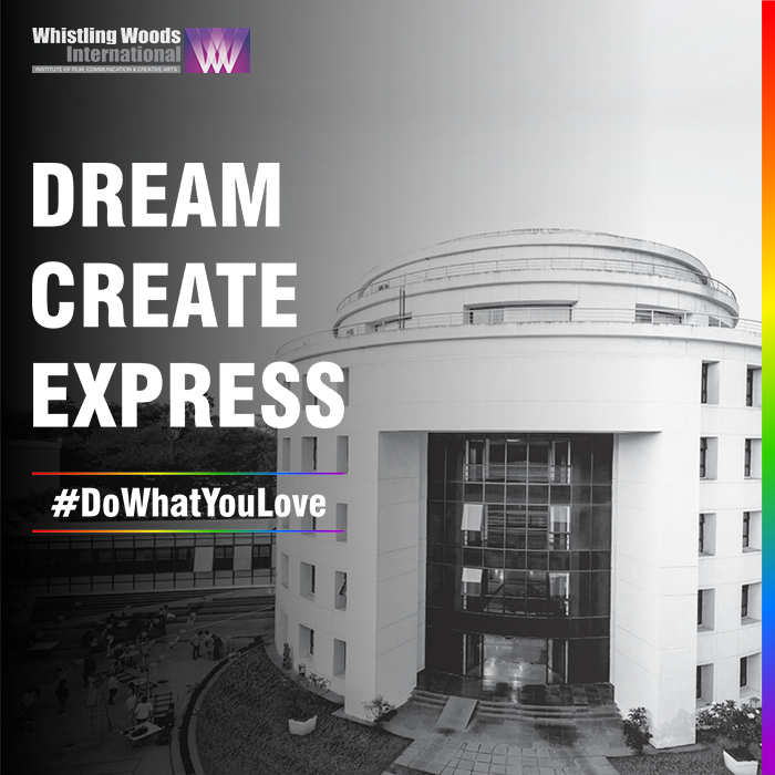Whistling Woods International celebrates equal opportunities, the vision to excel and a platform to express, bringing forth stories that have a voice of their own. #DoWhatYouLove #PrideMonth2020