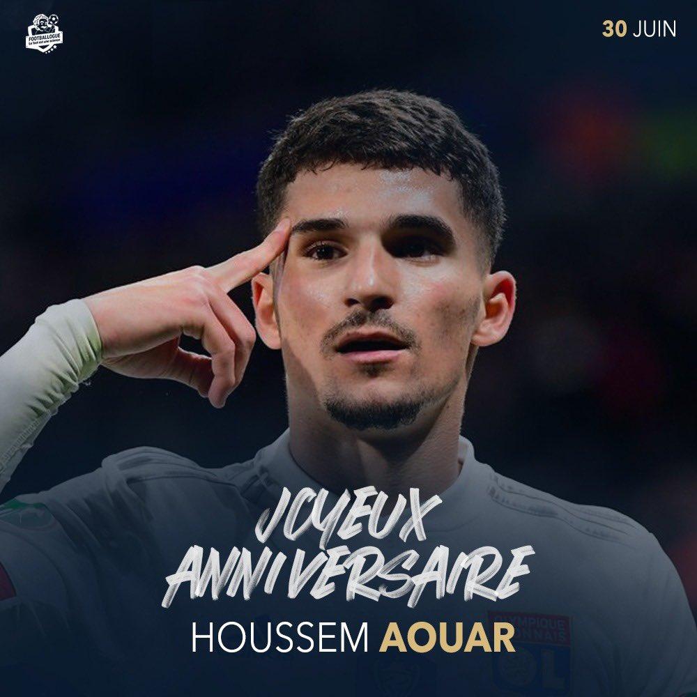 [#HB🎂] Joyeux anniversaire à Houssem Aouar qui fête aujourd'hui ses 22 ans. https://t.co/6HxSJtUiXL
