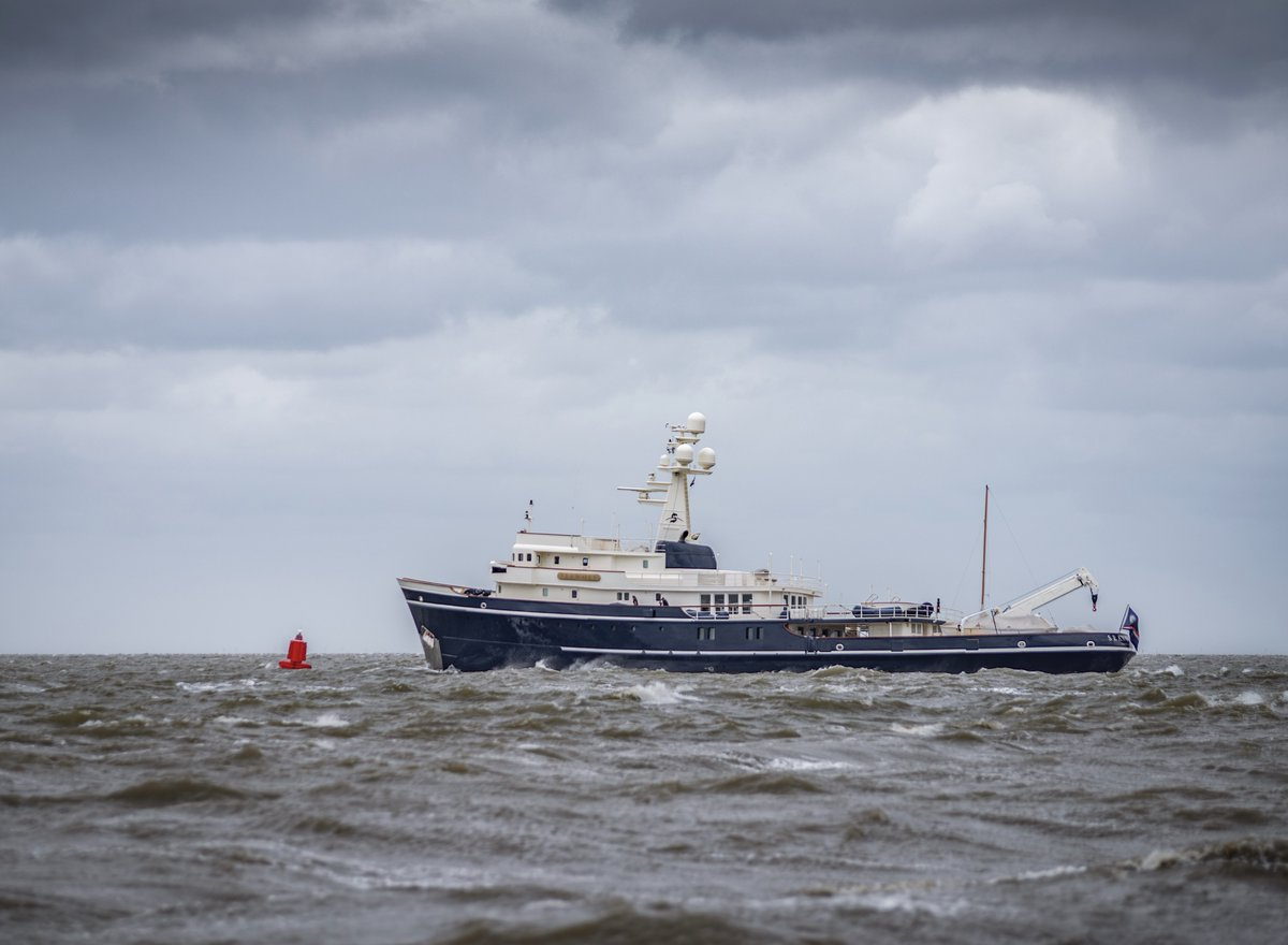 The 58.8m M/Y Seawolf is sailing again following successful refit works at ICON. On to her next voyage!  #ICONic #ICON #ICONyachts #seawolf #yachtbuilder #shipyard #Harlingen #seatrials #yachts #design #yachting #luxury #boats #superyacht #megayacht #yachtlife #dutchpic.twitter.com/keA50PWD2n