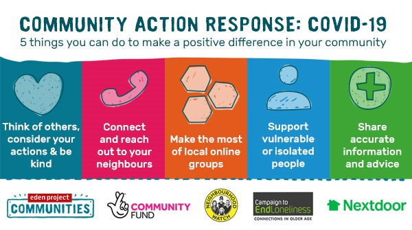 5 things you can do to make a positive difference in your community 🌈  #Covid #Coronovirus #Positive #Community #Change #BeKind #ThursdayThoughts https://t.co/mI86M2U97F