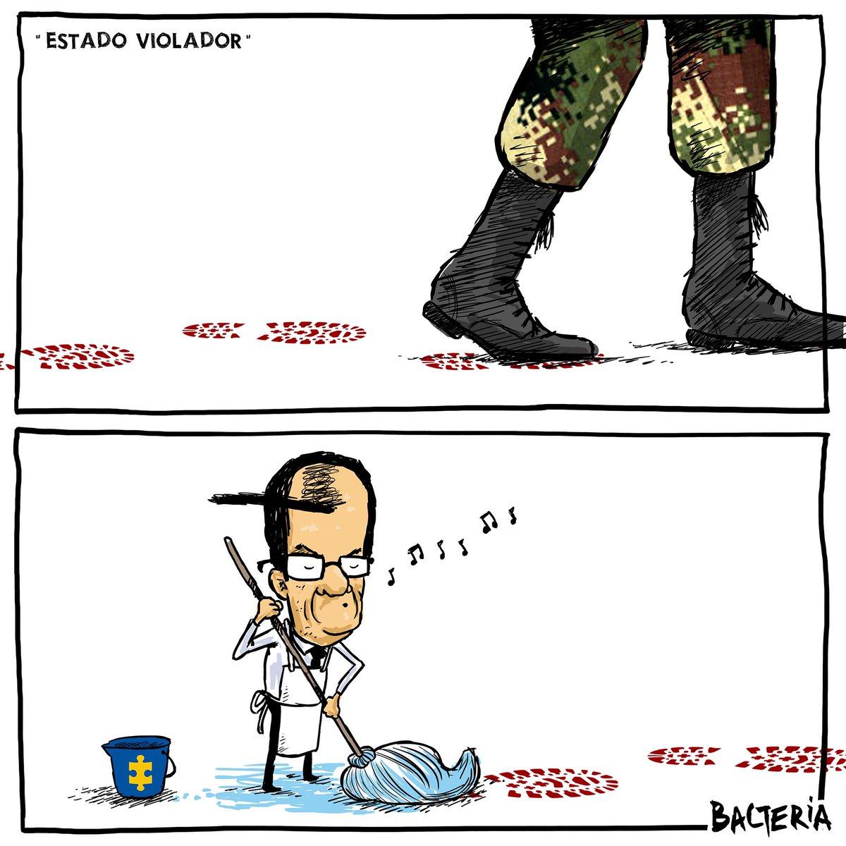 """""""ESTADO VIOLADOR"""" la caricatura del martes en .@lanuevaprensaco https://t.co/o9M2HeuMas"""