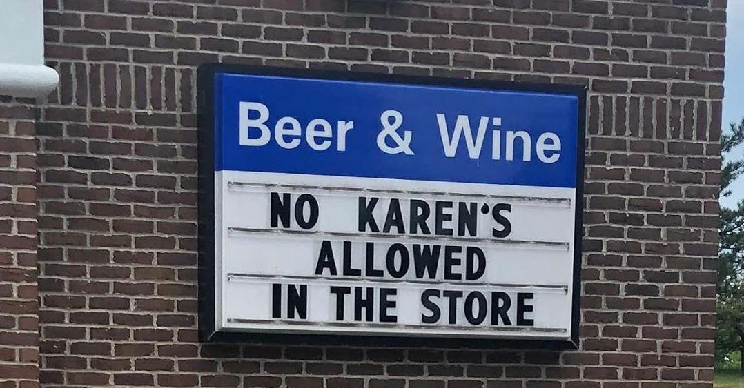 #CalmAKarenDown Karen...PLEASE do not show out at the liquor store this 4th of July! Please Karen, please. <br>http://pic.twitter.com/HUMMAnZkre