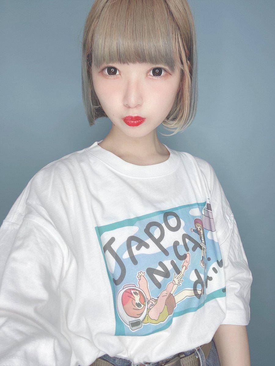 HFFのサムネTも着てみたよ色が爽やかで超かわいい!淡い色で着て欲しいな〜〜 #ジャポニカ食堂 #selfie #selca #1日1自撮り #셀카 #셀피 #girl #me #bobhaircut #suzuri   販売ページ https://suzuri.jp/shokudo_jp/3799187/t-shirt/s/ash…pic.twitter.com/YIgaXYOZ5t