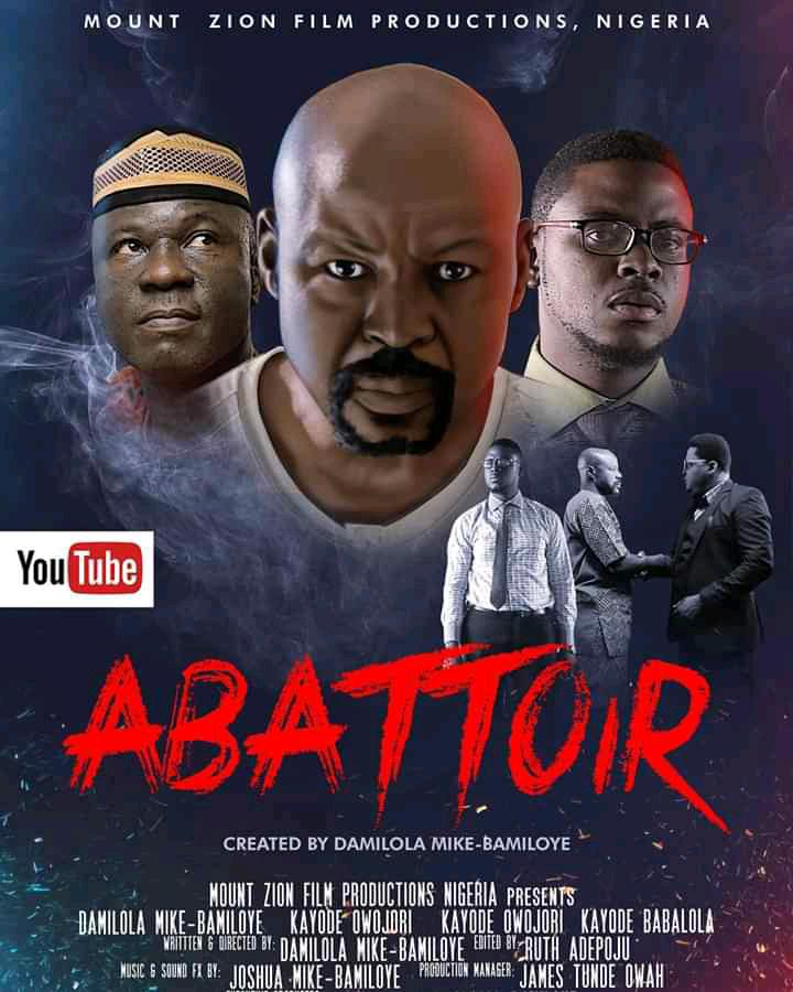 GREAT NEWS another epic amount Zion movie is coming to YouTube on July ABATTOIR ! Are you ready 🔥 🔥 🔥 🔥 🔥 🔥 🔥 🔥   @gospelfilmsng @dbamiloye @jay_mikee @mikebamiloye https://t.co/1qZ4GNDfDO