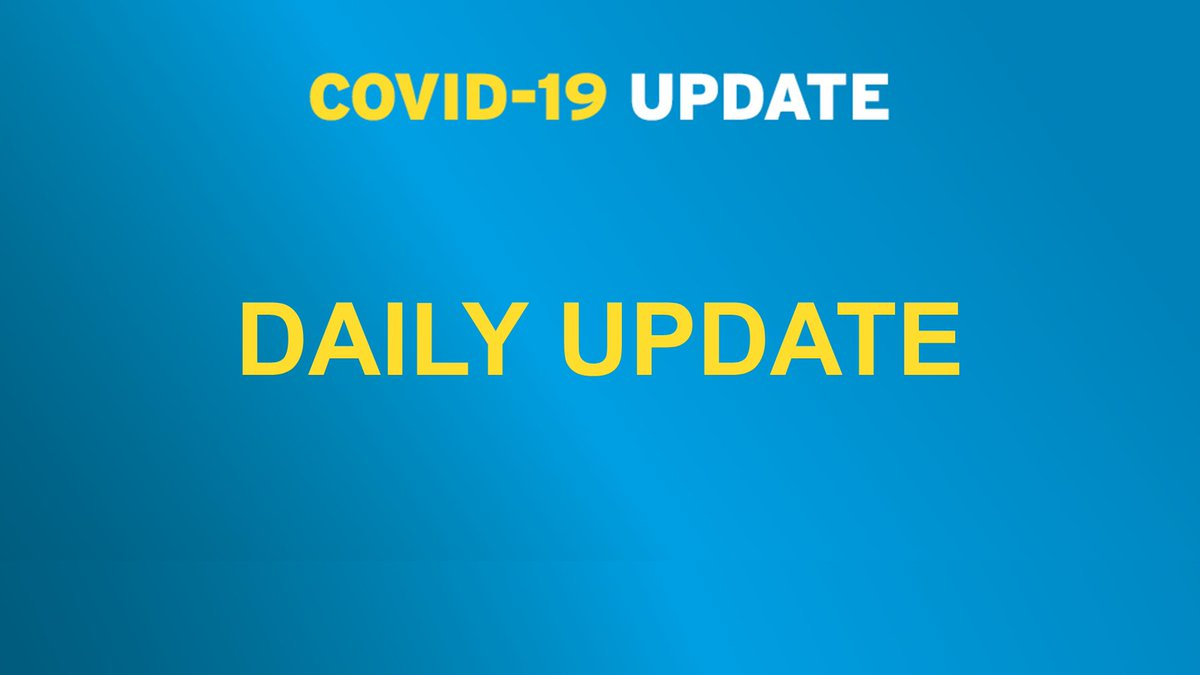 UPDATE on coronavirus (#COVID19)  https://t.co/YN16dmGzhv https://t.co/2UcQJH0Lrc