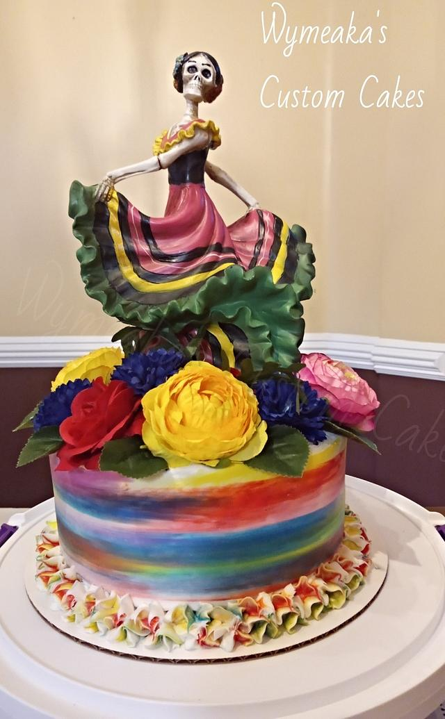 Day of The Dead Carnival cake http://twib.in/l/aGdqkXozneyA  via @CakesDecor #cakedecorating #cakespic.twitter.com/AnUN6qDuud