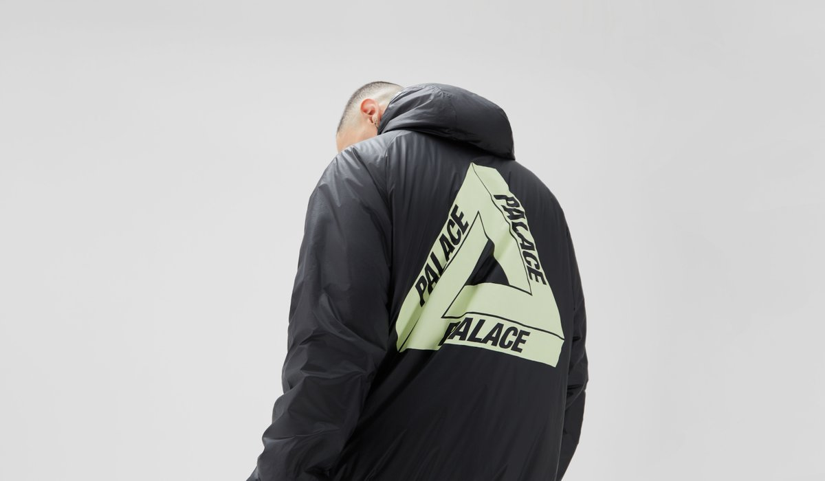 Introducing Palace. Disruptive, cheeky and ironic, shop apparel and accessories from the London-based skate shop on the app and https://t.co/fZOxW7rwGu https://t.co/evpgW1IuH3
