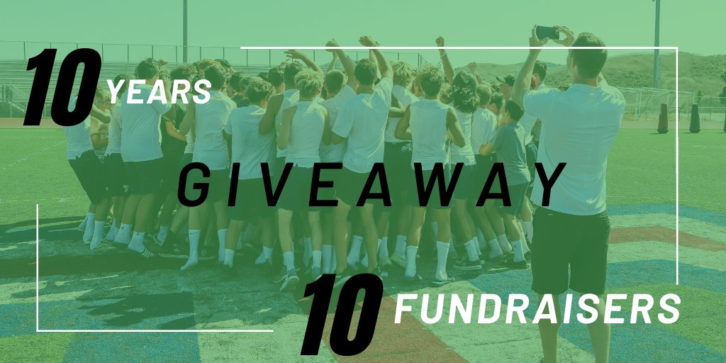 In honor of our 10 year anniversary, we are giving away 10 FREE FUNDRAISERS! 🎉  You keep 100% of the funds raised! 💰   To enter: 1. Follow @eTeamSponsor on Twitter 2. RETWEET this Tweet 3. Tag 5 programs in the comments section below 👇🏼  Contest ends on Friday at 12 noon PST. https://t.co/5BnMrrpj1x