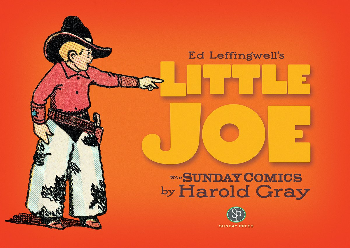 This book presents the best of the Little Joe comic strips from 1937 to 1942, flowing with violence, humor, and warmth in a low-key style that could only be told in art and story by a master like Harold Gray. Pick up LITTLE JOE when it hits stores this week! https://t.co/lq2n1Y2U4u
