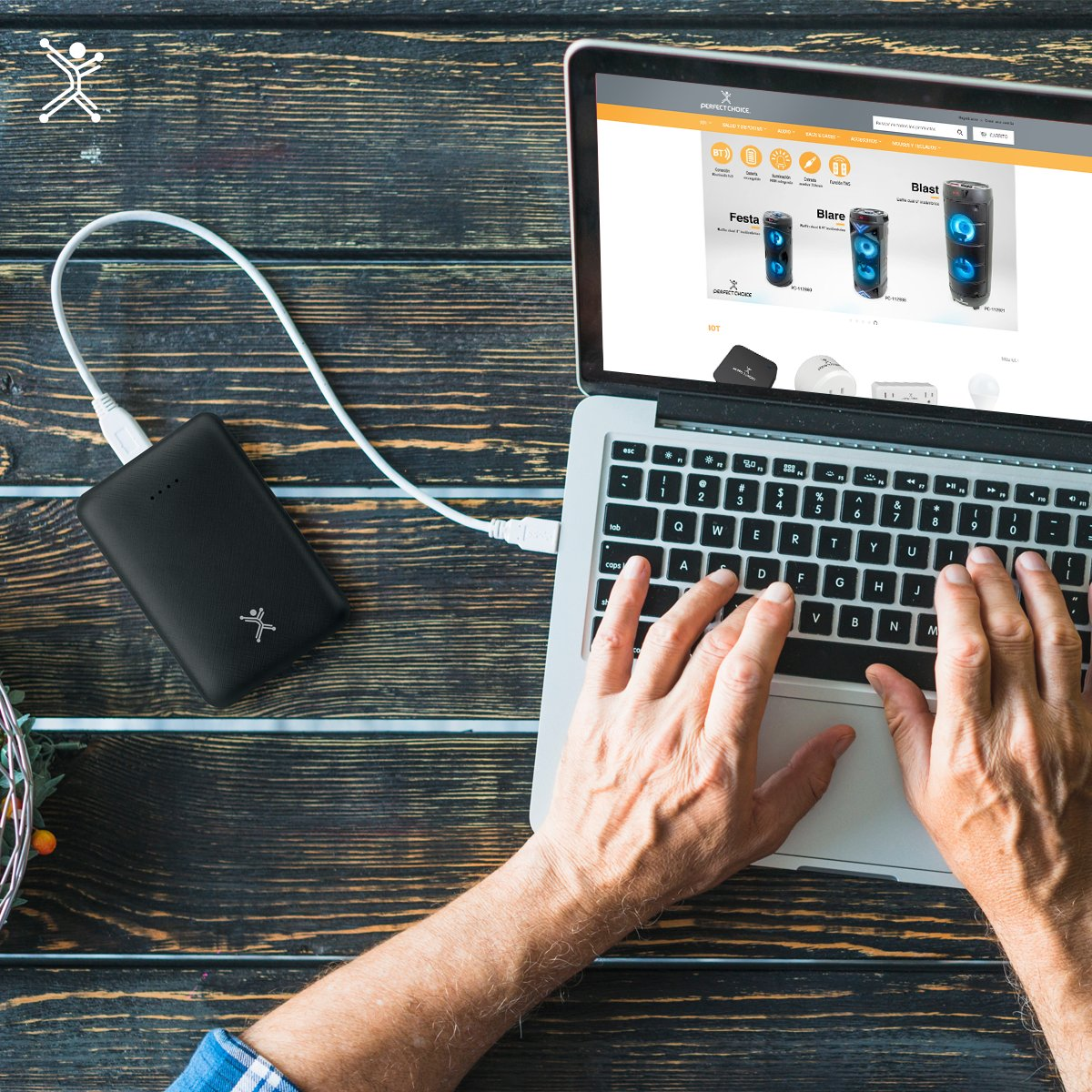 La power bank Perfect Choice de 10,000 mAh cuenta con protección para sobrevoltaje y corto-circuito, además de que tiene un diseño compacto.  De venta en:  https://t.co/fFZ5s6oMev  #powerbank #mobiledevices #gadget #smartphones #tablet https://t.co/w6ZfcSe9FK