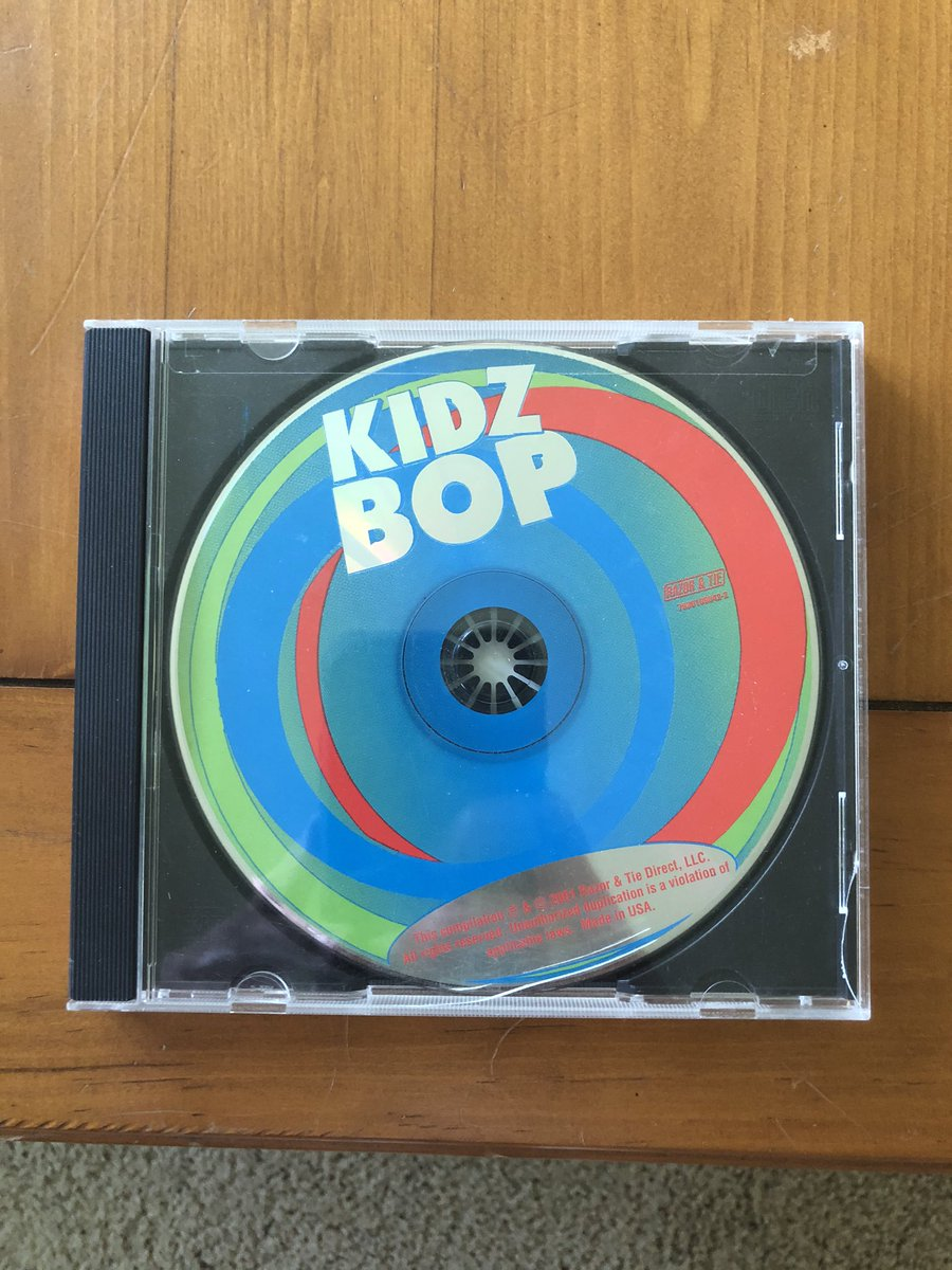 the fact that i own the original kidz bop...this has to be worth millions