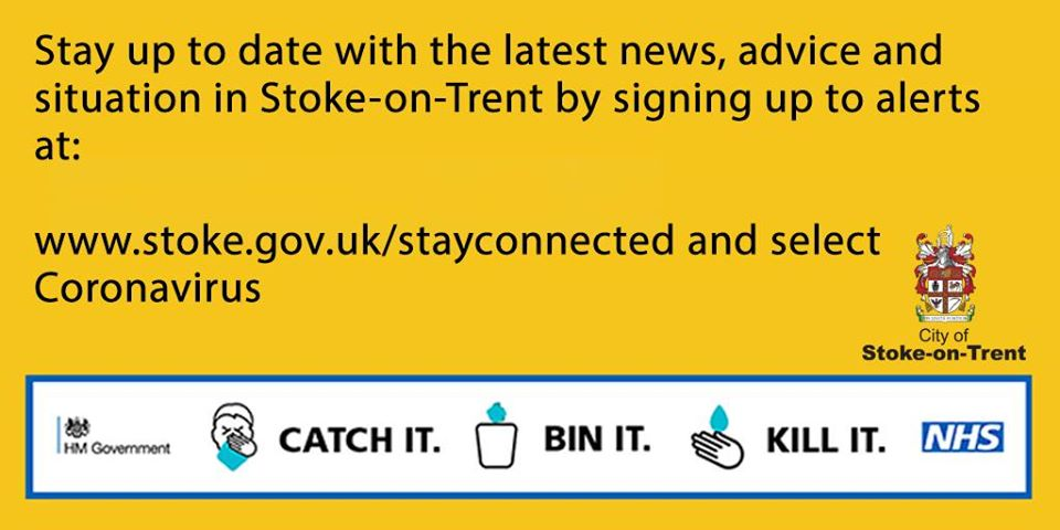 NEWS RELEASE: New plan sets out how Stoke-on-Trent City Council will prevent and respond to COVID-19 outbreak. ➡️Read more here: stoke.gov.uk/news/article/6…