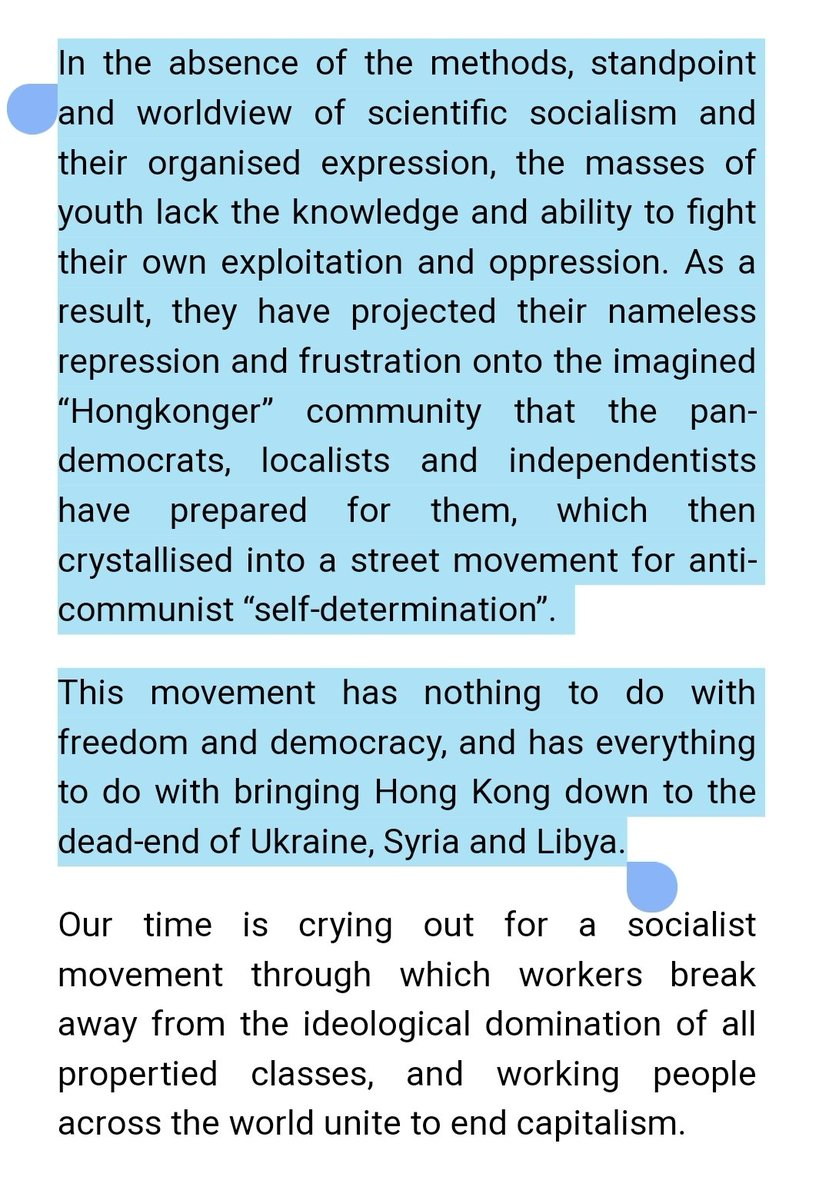 """Our comrades The Internationale—an actual leftist & communist HK group—suggested we share their great piece:  """"The HK protests have nothing to do with freedom & democracy and everything to do with bringing HK down to the dead-end of Ukraine, Syria & Libya""""  https:// international-online.org/2019/08/06/ace logic-eng/  … <br>http://pic.twitter.com/xOafzzaJzL"""