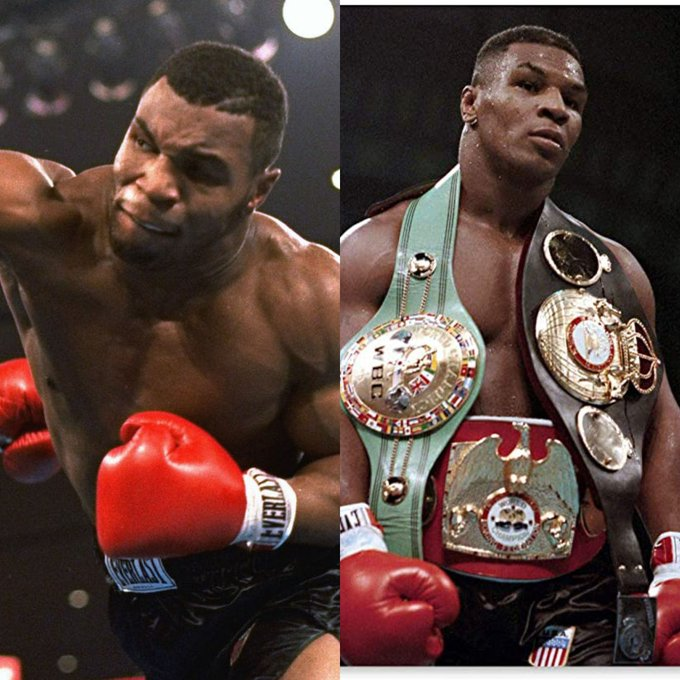 """Happy Birthday to the youngest Heavyweight Champion in history, \""""Iron\"""" Mike Tyson."""