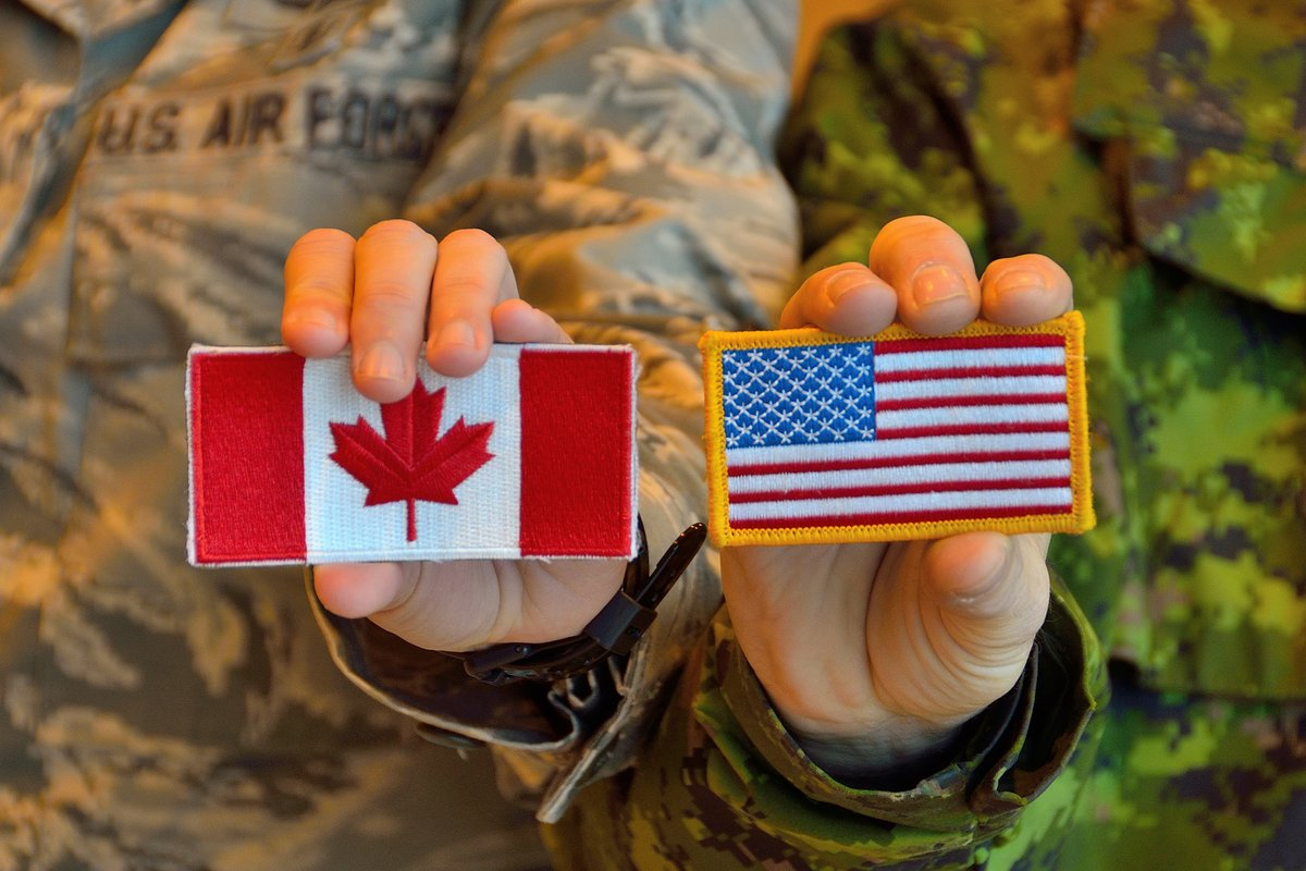 Today we wish all our American friends a Happy #independenceday2020  Canada and the United States have a proud history of cooperation and service together. Here's to our continued friendship going forward.  📸 MCpl Krista Blizzard https://t.co/iFGTag4Nyq