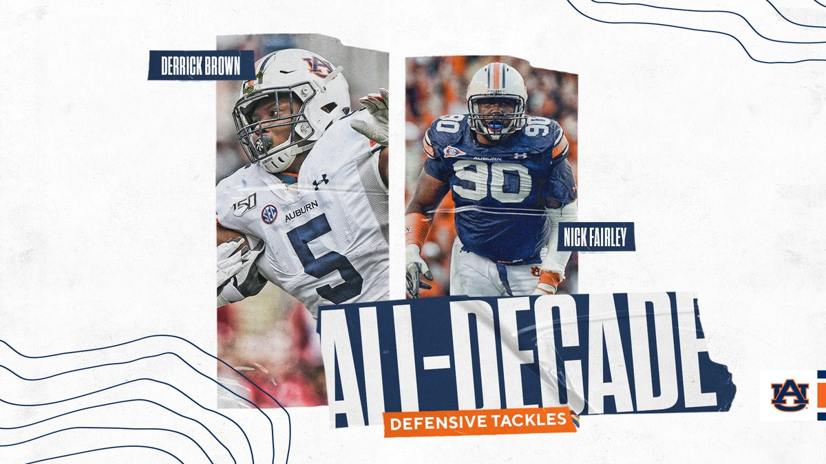 Introducing our 2010s All-Decade Defense. #WarEagle