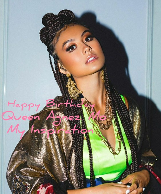 Happy Birthday Agnez Mo  We Love you from