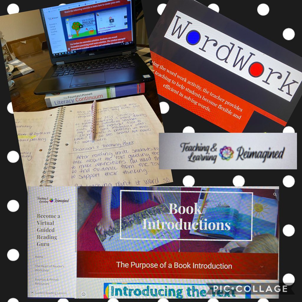 Learning about Literacy at my Leisure! Phew! Say that 3x! Thank you @HumbleISD_PL for the self-paced E-Courses. Also, very informative session @NettaWhitaker1! @HumbleISD_RCE don't miss some additional learning opportunities!pic.twitter.com/SsOQeDkHXk