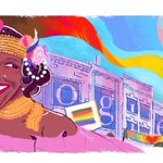 Image for the Tweet beginning: Today's #GoogleDoodle celebrates activist, performer,