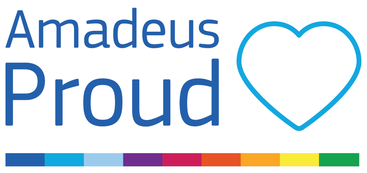 Diversity & inclusion are key values for us. Our employees form network groups to work on issues that are important to them & us. Today #AmadeusProud, our LGBT+ & ally group, held its 1st global Pride event, sharing their work toward a more inclusive workplace for all. https://t.co/VxaJrYe6OL