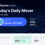 Image for the Tweet beginning: 😲 Qtum introduces the first