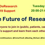 Image for the Tweet beginning: Next #WhyWeDoResearch tweetchat is Tuesday