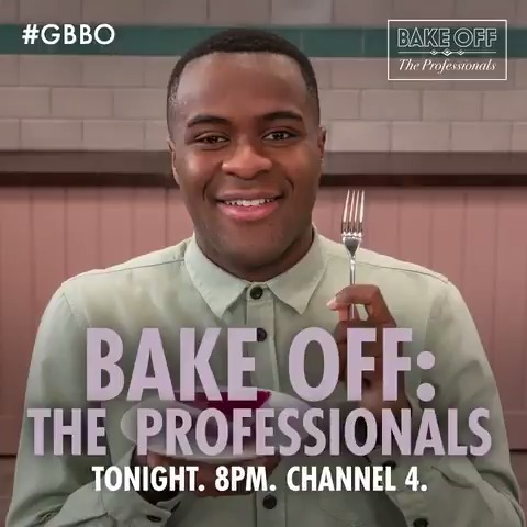 It's the last of the heats tonight and by the end of the show the Final Six teams of pastry chefs will be revealed! Join @LiamCBakes, @TomAllenComedy, @BenoitBlin_MCA and @Cherish_Finden for Bake Off: The Professionals at 8pm on @Channel4. #GBBO