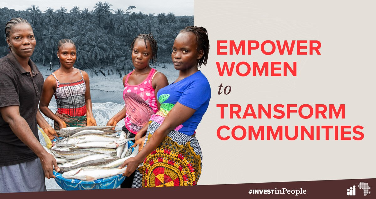 How can we remove the barriers that keep African women from realizing their full potential and gaining equal opportunity? Share your ideas and find out here: wrld.bg/hfAd50AarMU #InvestInPeople