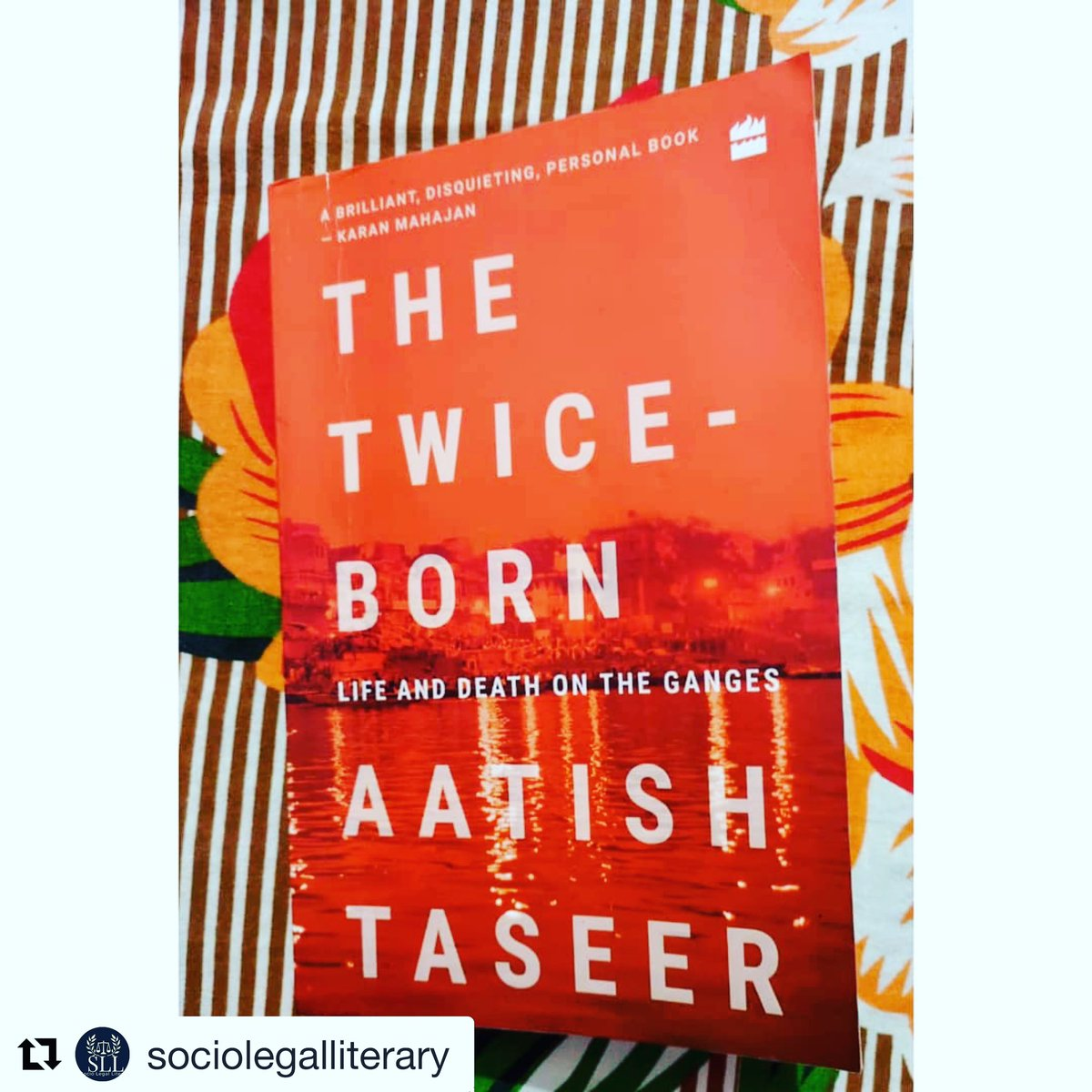 This is a very thoughtful reading of my book, The Twice-Born. https://t.co/MO65upBHzo