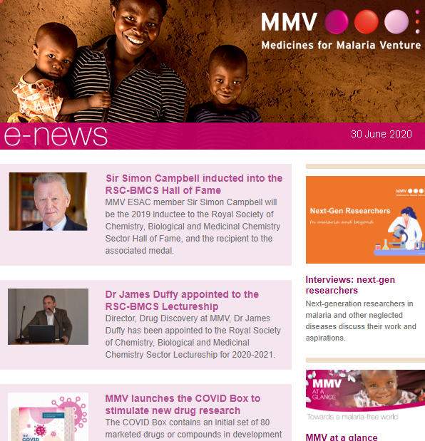 🔔Our June newsletter is out now!  Stay up-to-date with the latest news and opportunities at @MedsforMalaria   https://t.co/rnvH04NzSe https://t.co/DvU4k3Ejd4