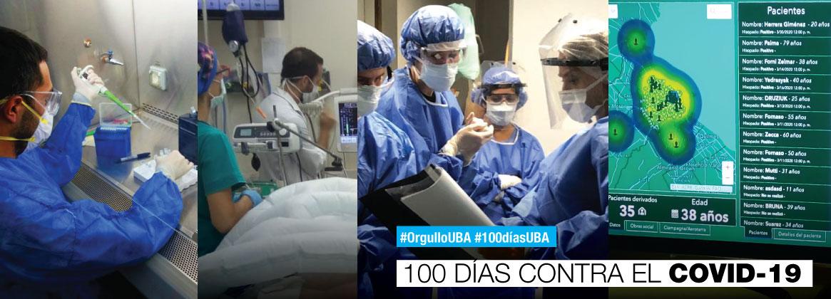 💪La UBA y el combate contra el Coronavirus➕Desde los primeros indicios de la pandemia, la UBA tomó iniciativa en la búsqueda de soluciones para paliar la crisis sanitaria y poner a disposición su capacidad científica y tecnológica.➕https://t.co/hUh20NEweE https://t.co/0jXRUDhMud