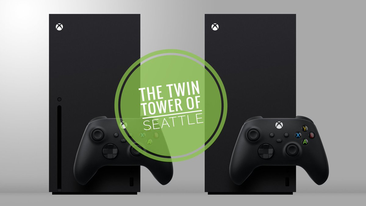 The Twin Tower of Seattle #XboxOneX #XboxSerieX #XboxSeriesAllDigital #Xbox360 #Xbox #XboxOneS #XboxOne https://t.co/S4GCI4QZBs