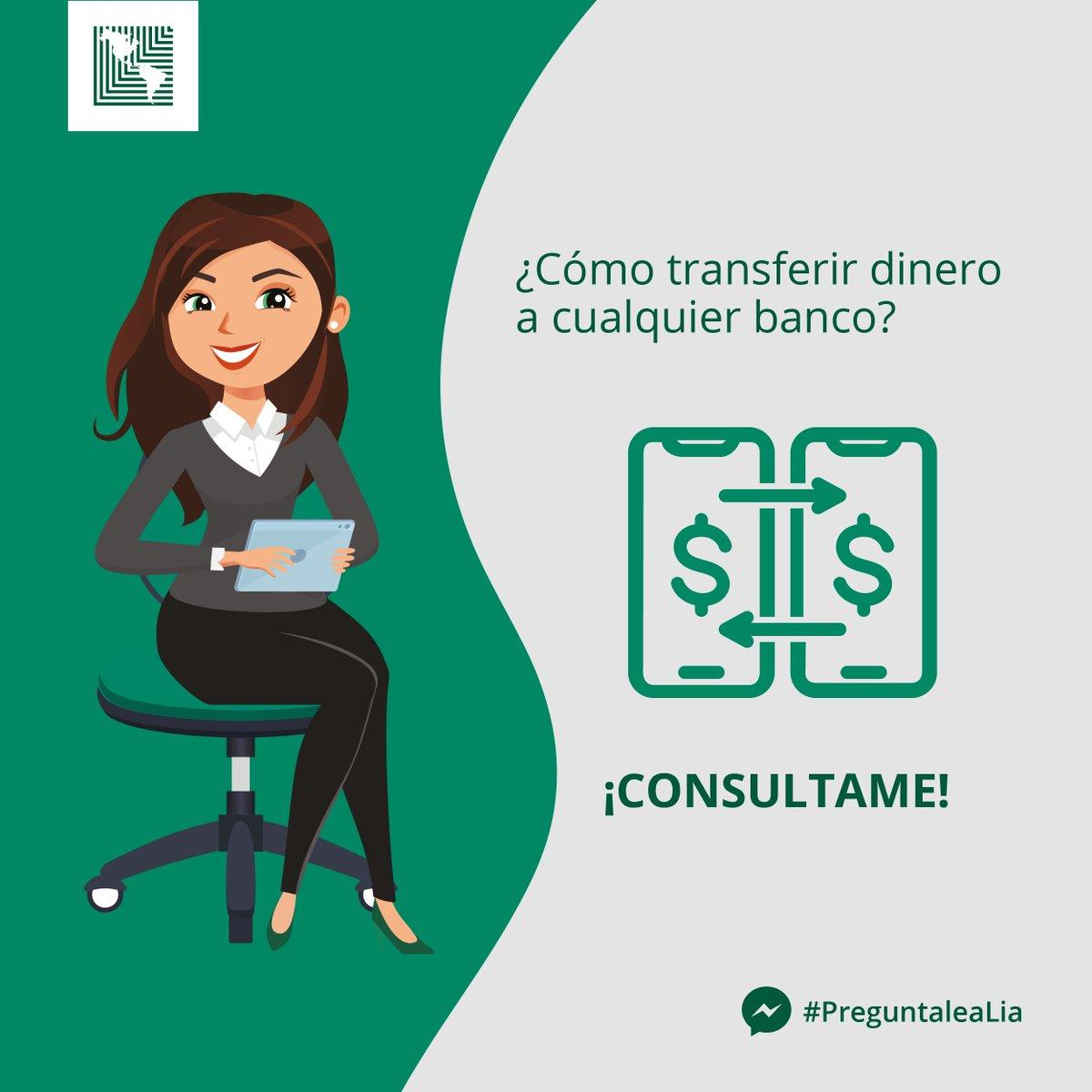 ¿Necesitás transferir dinero de banco a banco de forma digital? 📲  #PreguntaleALia ¡Chateale! A través de Facebook Messenger ella te dirá  cómo hacerlo desde nuestra banca en línea. 🙌  ➡️Escribile vía Messenger aquí: https://t.co/ScsCULbUMO  #PreguntaleaLiaenCasa #LiadeLAFISE https://t.co/BXq0S4AGx3