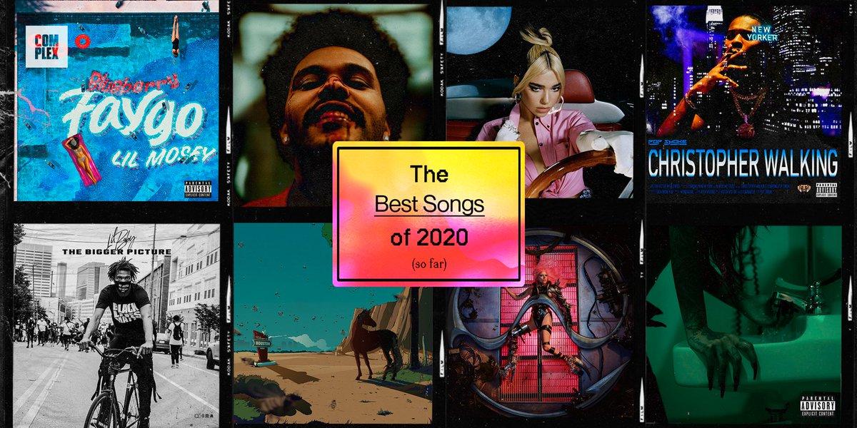 🚨🎧 BESTS SONGS OF 2020 (so far)  RANKED: https://t.co/aAIFpfyf4f https://t.co/1jPXaRFjYz