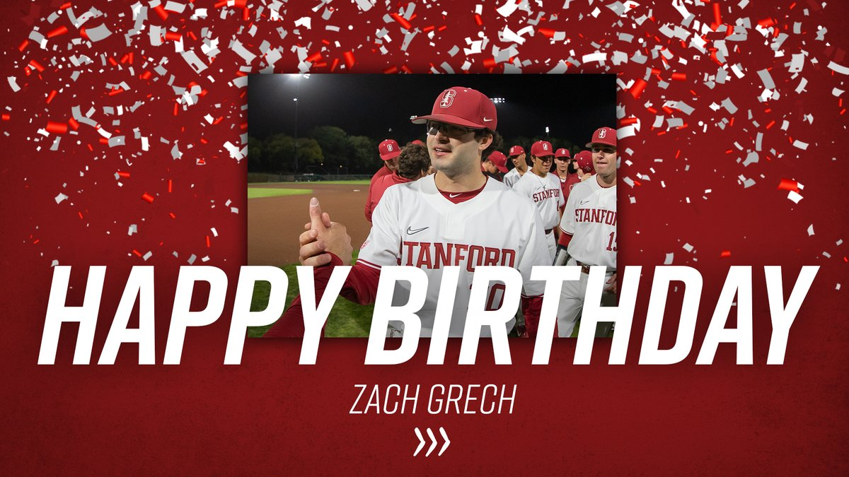 Time to catch up on some June birthdays!  June 5 👉 @ZGrech 🎂  #GoStanford https://t.co/xgH7RoYnjQ