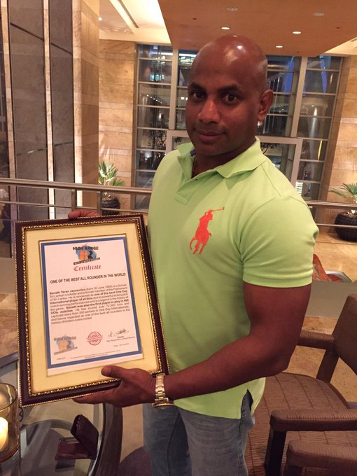 HighRangeTeam wishes Sanath Jayasuriya a very Happy 51st Birthday!!