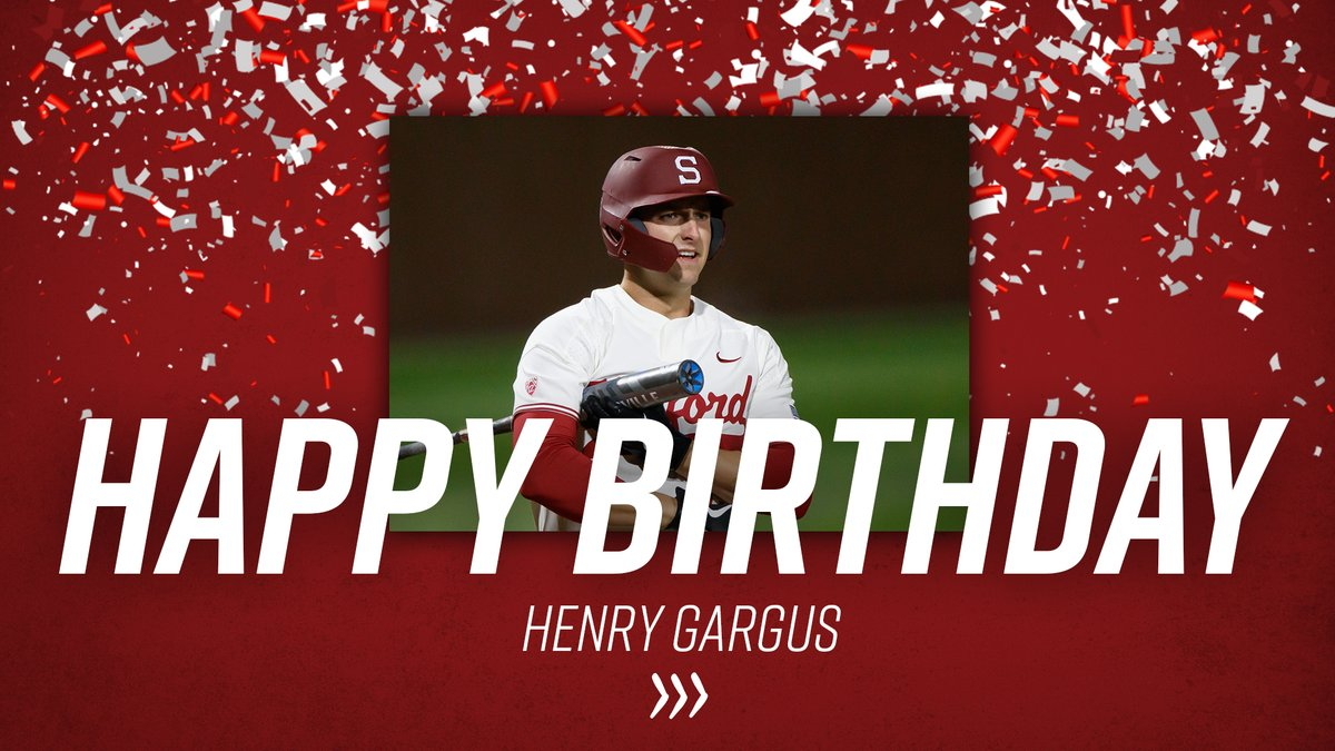 June 6 👉 Henry Gargus 🎂  #GoStanford https://t.co/MnmkiLxkNh