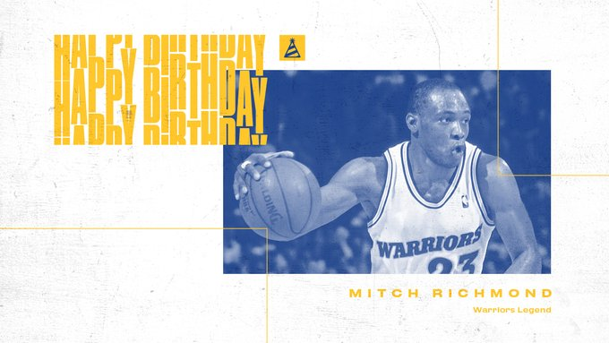 join us in wishing Hall of Famer Mitch Richmond a very Happy Birthday!