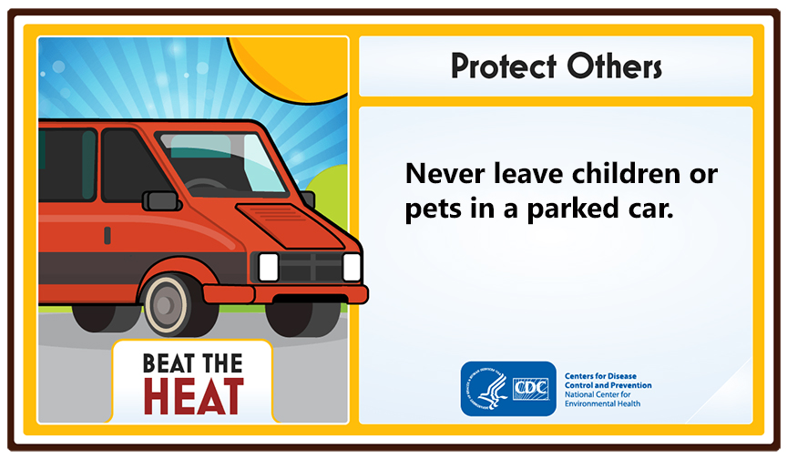 - Protect Others: Never leave children or pets in a parked car.