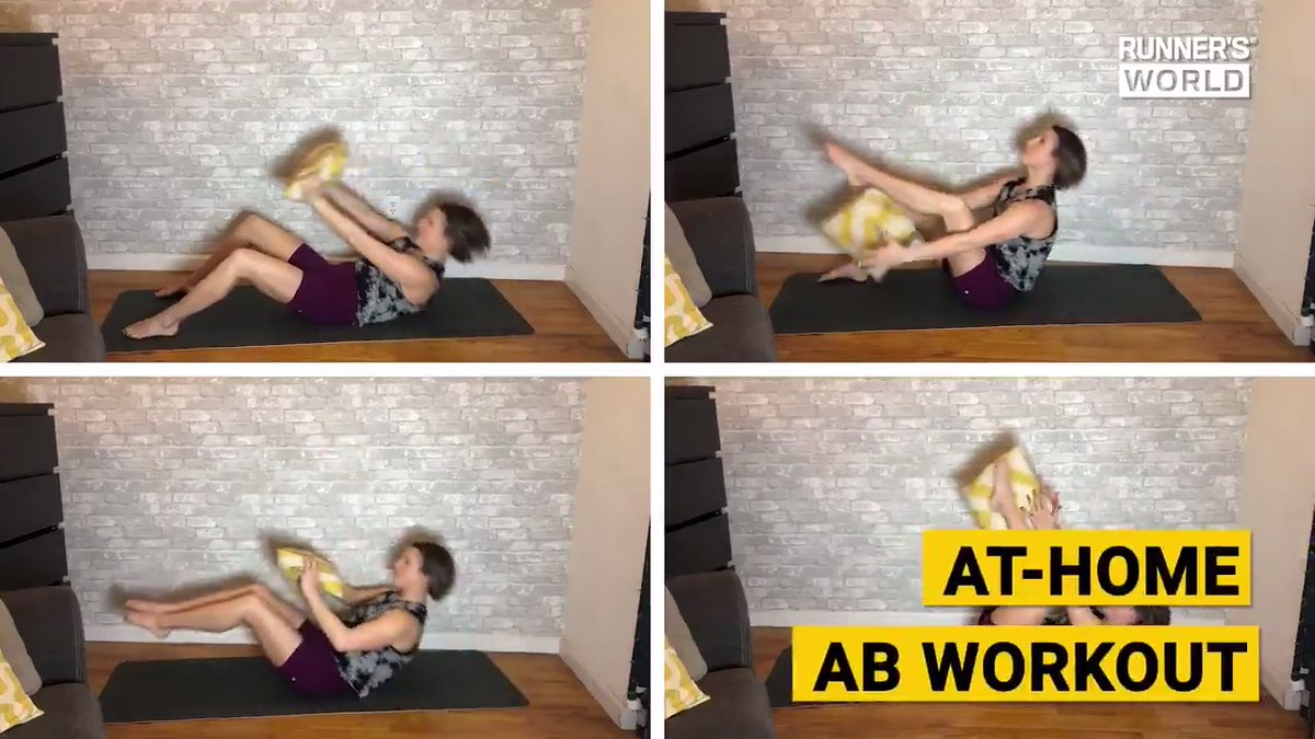 RT @runnersworld: Try this at-home ab workout https://t.co/3vnis509MZ